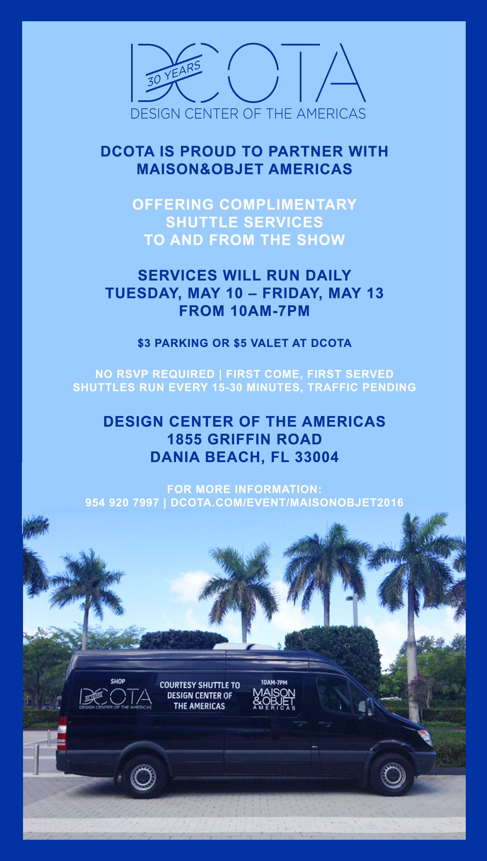 DCOTA_Maison Shuttle Invite