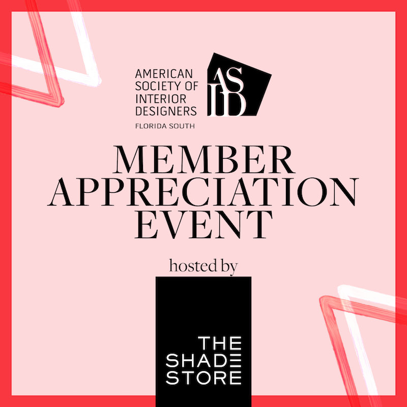 Member Appreciation Event at The Shade Store