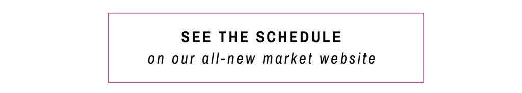 DCOTA Fall Market Schedule