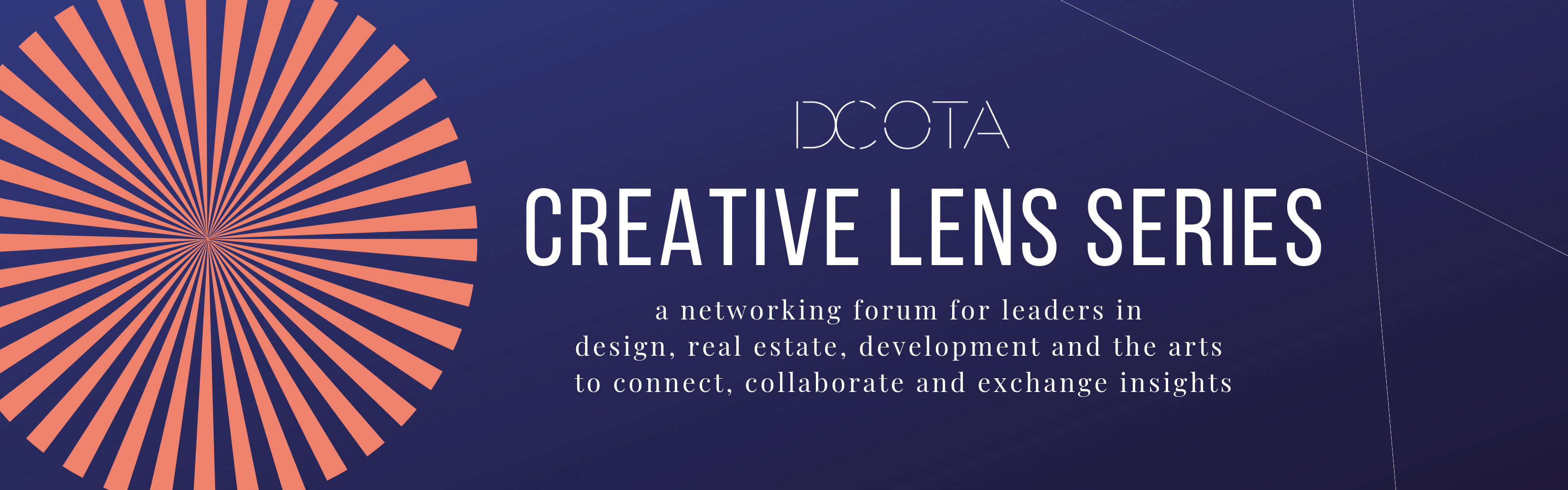 Creative Lens Networking Series at DCOTA